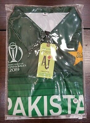 Pakistan Cricket Team 2018 World Cup Official Genuine Shirt Large