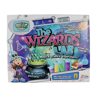 Weird Science Awesome Glowing Laboratory Chemistry Experiment Set Kit Toy