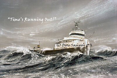 EDMUND FITZGERALD Great Lakes Freighter (Read for complete information!)