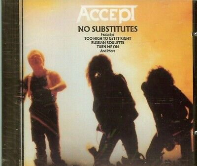ACCEPT - No Substitutes - CD - NEW - SEALED