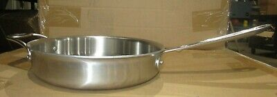 All-Clad d5 Brushed 5-ply Stainless-Steel 3-Qt Sauté Pan, without lid