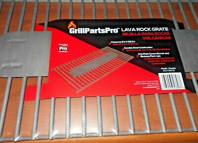 "Lava Rocks Gas Grill Rock GRATE for Stones Grilling Barbecue Outdoor 22"" x 11"""