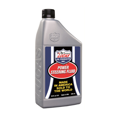 LUCAS Power Steering Fluid Protector Friction Noise Reducer 946ml