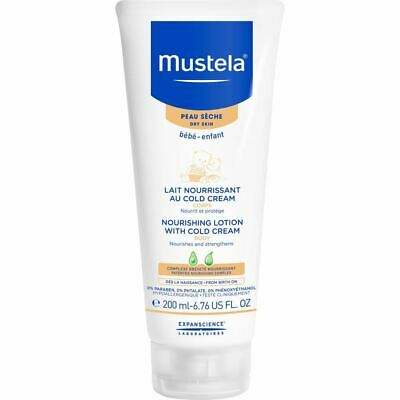 Mustela Nourishing Lotion With Cold Cream for Dry Skin 200ml