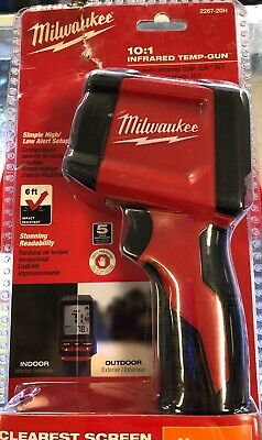 NEW Milwuakee 2267-20H Infrared Thermometer 10:1 LCD Display Factory Sealed