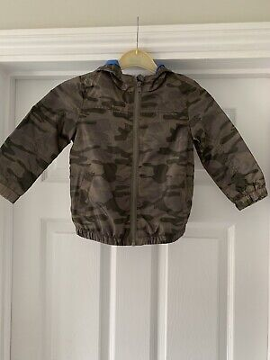 Bnwot Girls Or Boys Camouflage Thin Summer Jacket 2-3 Years Tesco