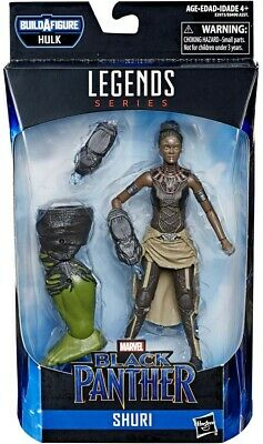 Marvel Legends | Avengers End Game | Shuri | BAF Hulk | 6-Inch Figure