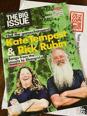 The Big Issue No. 1361 Kate Tempest And Rick Rubin