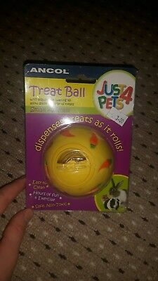 Ancol Just 4 Pets Small Animal Hamster Mouse Gerbil Treat Ball 164019