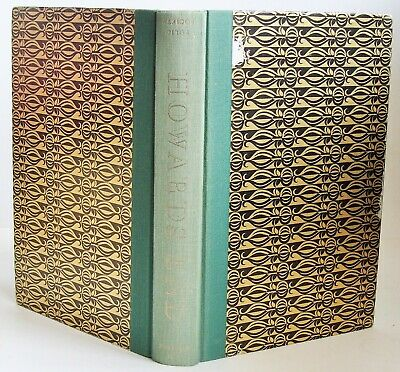 HOWARDS END Folio Society 1973 E M Forster NO BOX illustrated VGC