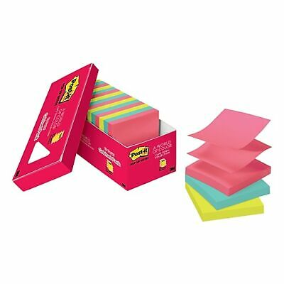 3M R330-AU POST-IT POPUP NOTES 76X76MM mixed colours PACK 6 OF 100 SHEET ALL Jap