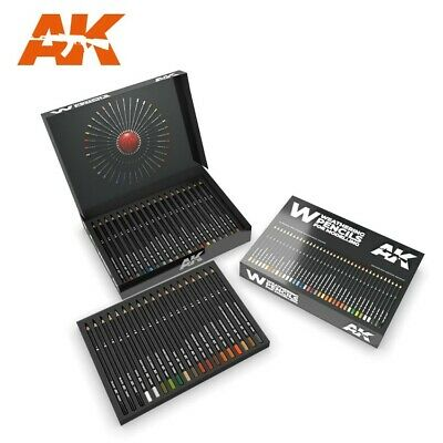 Ak 10047 # Weathering Pencils: Deluxe Edition Box