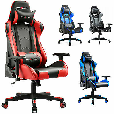 Executive Racing chair gaming chair Ergonomic PU Leather office desk