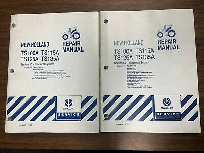 NEW HOLLAND TL80A TL90A TL100A Tractor Electrical Service Fault Code on