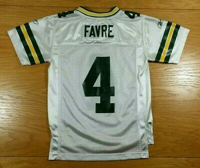 92f730f4 BRETT FAVRE REEBOK Green Bay Packers Jersey Youth XL/Adult Small (18 ...