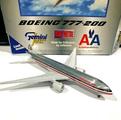 Gemini Jets Chrome Metal Display Stand For Models Scale 1:400 GJSTD777  G