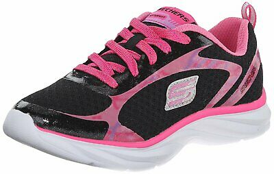 Multi 52R New Girls Toddler//Little Kid Skechers Pepsters 80594 Training Shoes