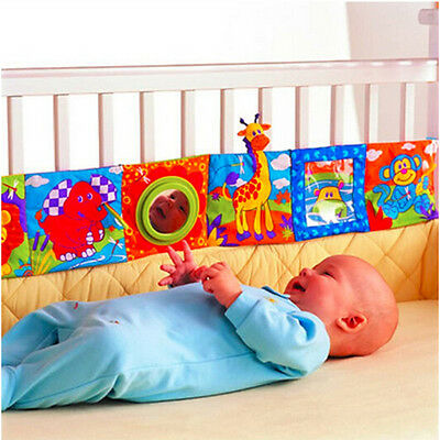 Cute Infant Baby Animal Cloth Book Bed Cognize Intelligence Development Toys HV
