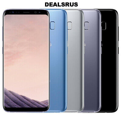 "Samsung Galaxy S8 G950 ""Factory Unlocked"" 64GB Android Smartphone MFR"