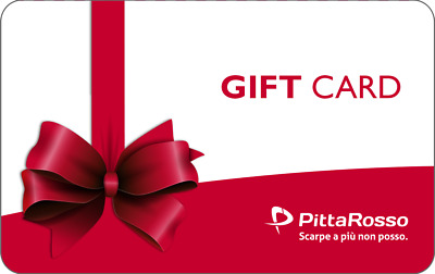 Gift Card Pittarosso Da 50 Euro Scontata Buono Voucher Coupon Sconto Idea Regalo