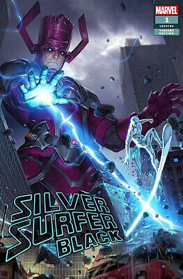 SILVER SURFER: BLACK #1 Junggeun Yoon Variant Cover Marvel 1st Print New NM