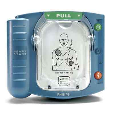NEW 2018 Philips Heartstart Onsite HS1 AED M5066A 2021 Pads 7 Year Warranty