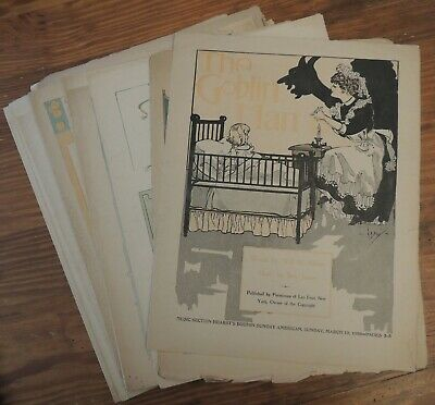 Antique Sheet Music Lot of 25 From Boston Sunday American in 1905 RARE!
