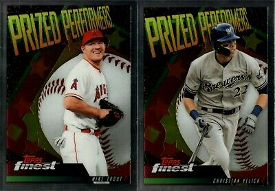 2019 Topps Finest Prized Performers Insert Set Singles - You Pick & Complete