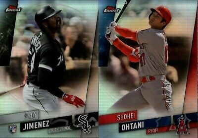 2019 Topps Finest Refractor Singles W/ Rc - You Pick To Complete Set
