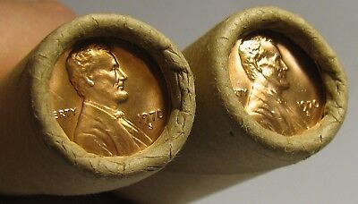 2 Rolls Of 1970 S Obw Lincoln Memorial Cents From Penny Collection