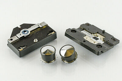 Eumig Standard 8 Sprocket Drums, Film Guide and Film Pressure plate
