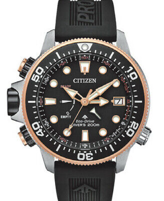 New Citizen Promaster AquaLand Limited Edition Pro Diver Men's Watch BN2037-03E