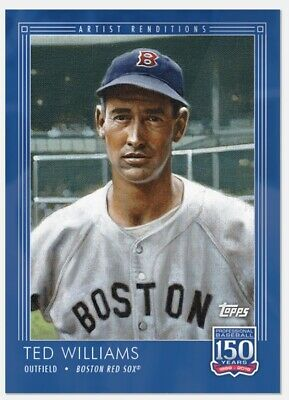 2019 Topps 150 Years of Baseball #39 Ted Williams PR: 1,432 Boston Red Sox