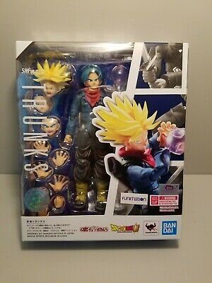 BANDAI S.H IN STOCK Figuarts Dragonball Z FUTURE TRUNKS Saiyan action figure