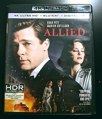 Allied - 4K UHD Region Free Bluray - US IMPORT