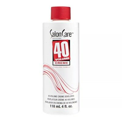 Salon Care 40 Volume Creme Developer 4 oz Saloncare Fast ship From Usa