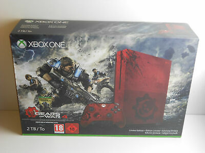Microsoft Xbox One S Gears of War 4 Limited Edition 2TB