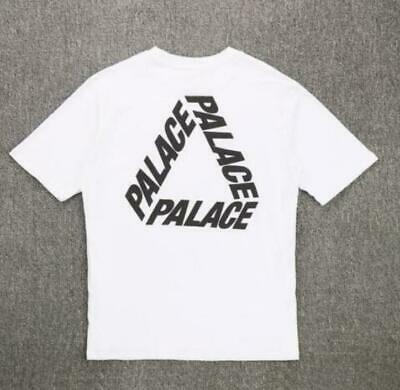 afae393e New Men's 19SS PALACE Colorful Letters 3 Colors Graphic Tee Unisex T-Shirts  ...