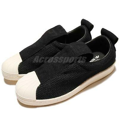 Shoes White Women Superstar Bw35 Originals Black Adidas Slip W On WE29YDHI