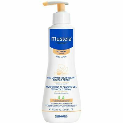 Mustela Nourishing Cleansing Gel with Cold Cream for Dry Skin 300ml