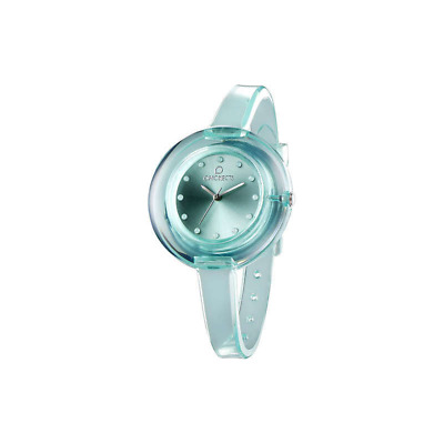 Orologio OPS OBJECTS mod. NUDE ref. OPSPW-68 Donna in gomma verde acqua TRANDY