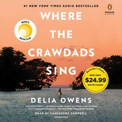 Where the Crawdads Sing by Delia Owens: New Audiobook