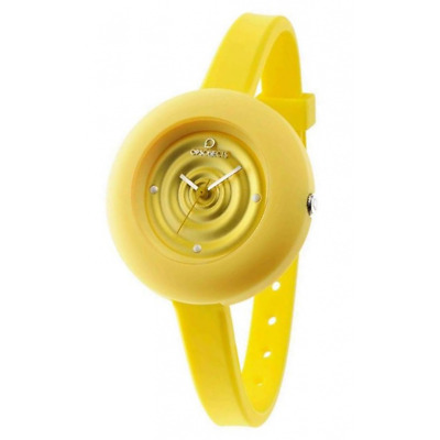 Orologio OPS OBJECTS mod RAINDROP ref OPSPW-291  Donna silicone giallo trendy