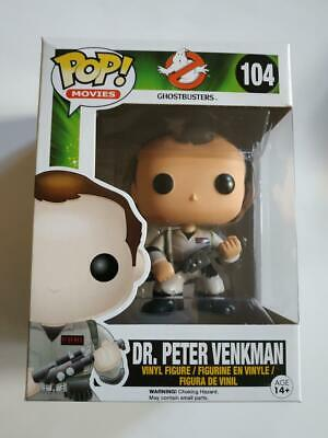 Figurine Funko POP! Movies Ghostbusters 104 Dr Peter Venkman
