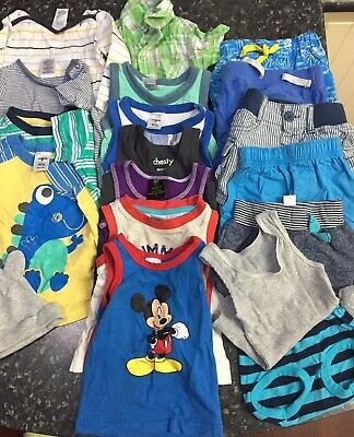 Baby Boy Clothes Mixed Bundle Size 00