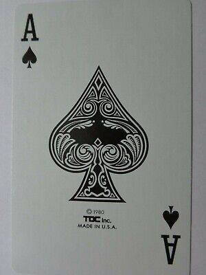 Single  Ace Of Spades  Card,  Swap Playing Card