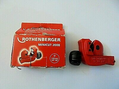 NEW ROTHENBERGER MINICUT 2000 Tube Cutter 3-22mm  70105.