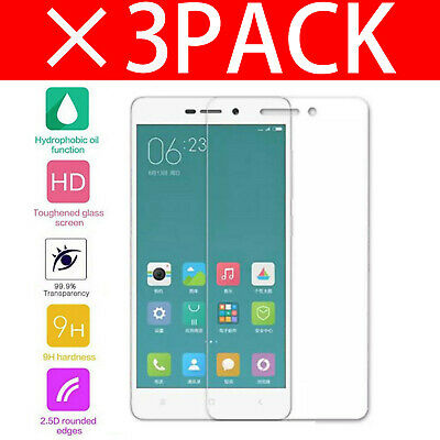 For Xiaomi Redmi 3X Tempered Glass Screen Protector - BRAND NEW!!