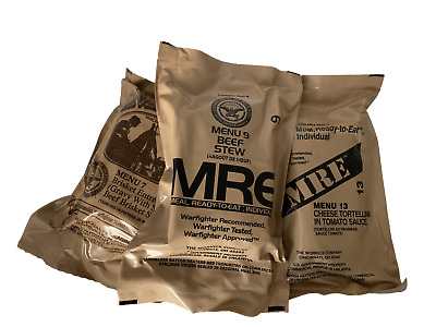 New Military Individual Mre Meals Ready To Eat (You Pick The Meal) Buy 2 Get 1
