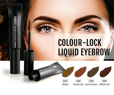 ❤️New Qibest Liquid Color Eyebrow Definer Tint Brows Eye Make Up Wax Free Uk❤️